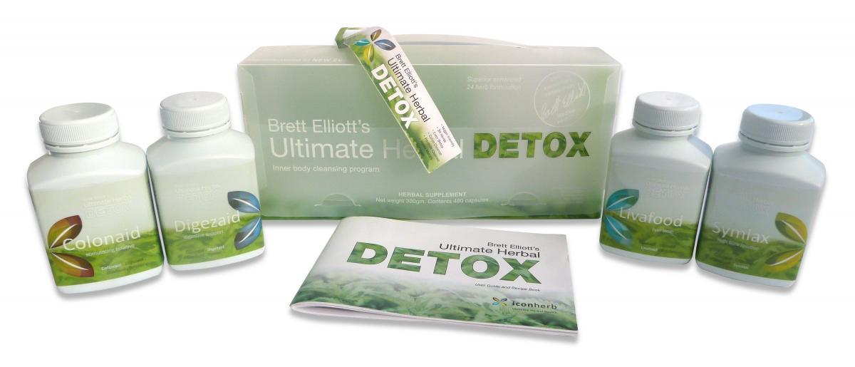 Brett Elliott's Ultimate Herbal Detox kit