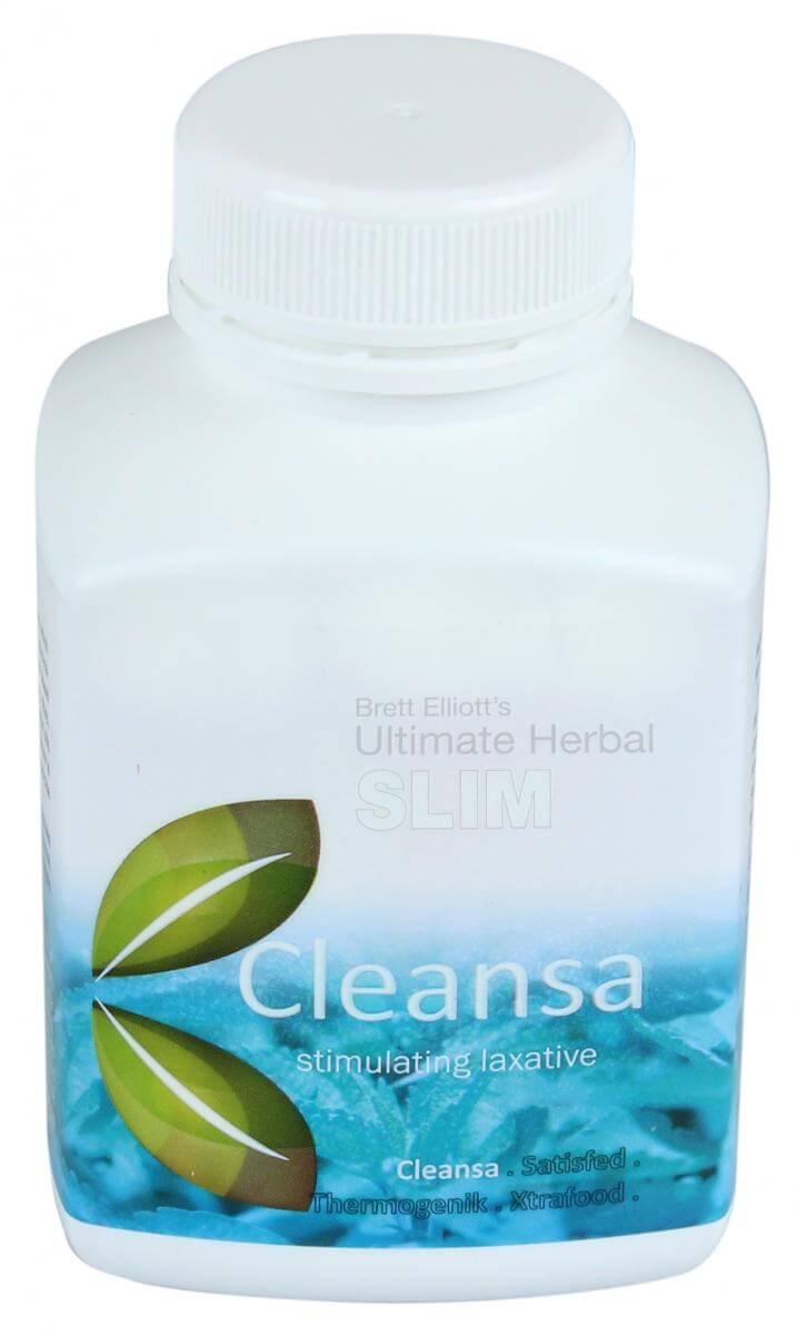 Cleansa Stimulating Laxative bottle