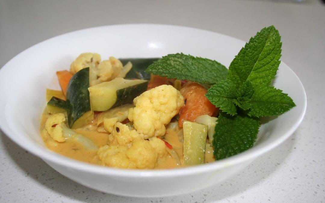 Indian Style Cauliflower Curry