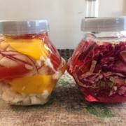 Fermented Vegetables made by Sharon Kautai