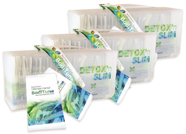 BodiTune Detox n Slim protein drink program
