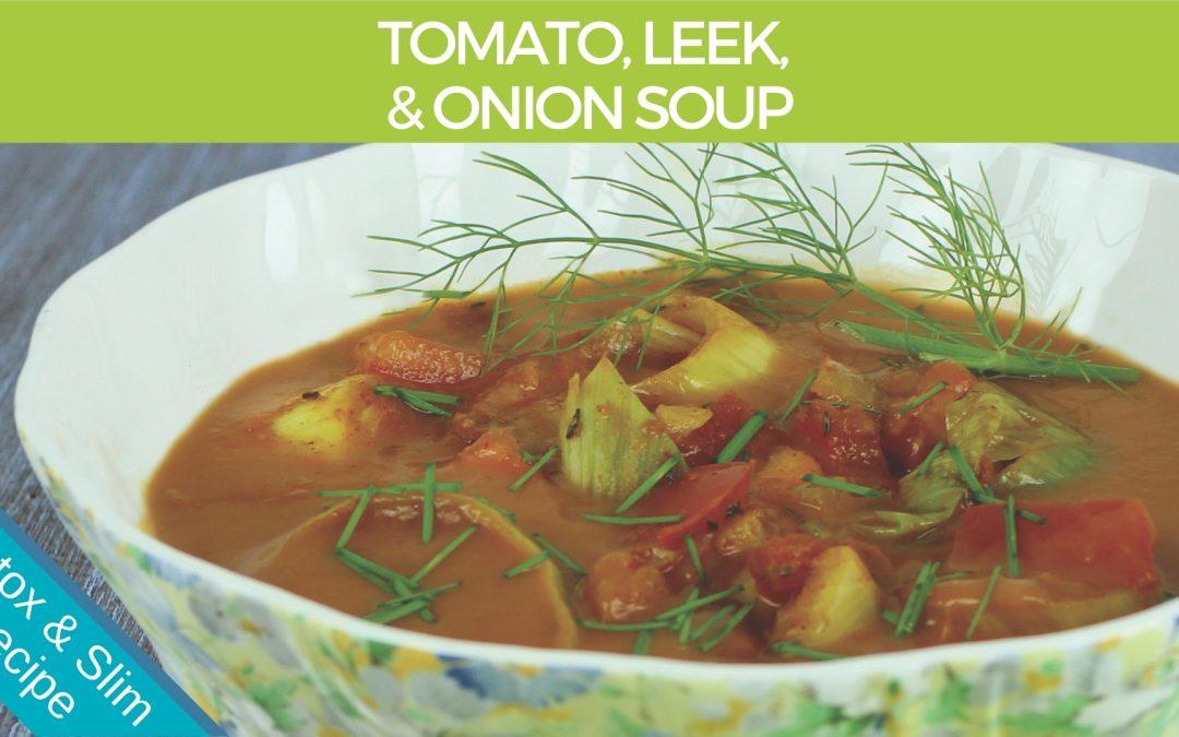 Tomato, Leek & Onion Soup