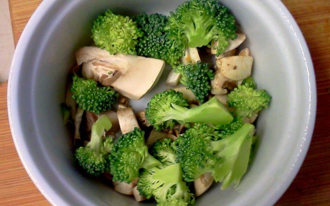 Thai Style Broccoli & Mushroom