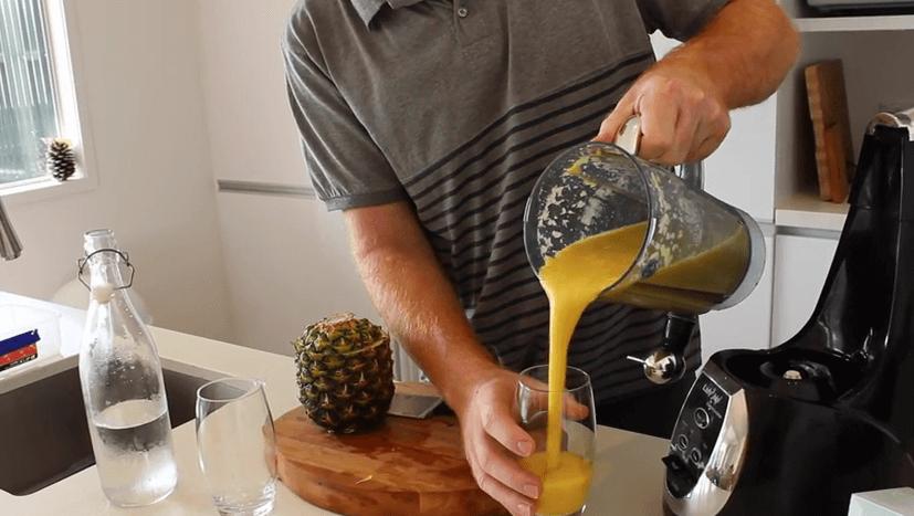 Orange & Pineapple Digestive Enzyme Smoothie