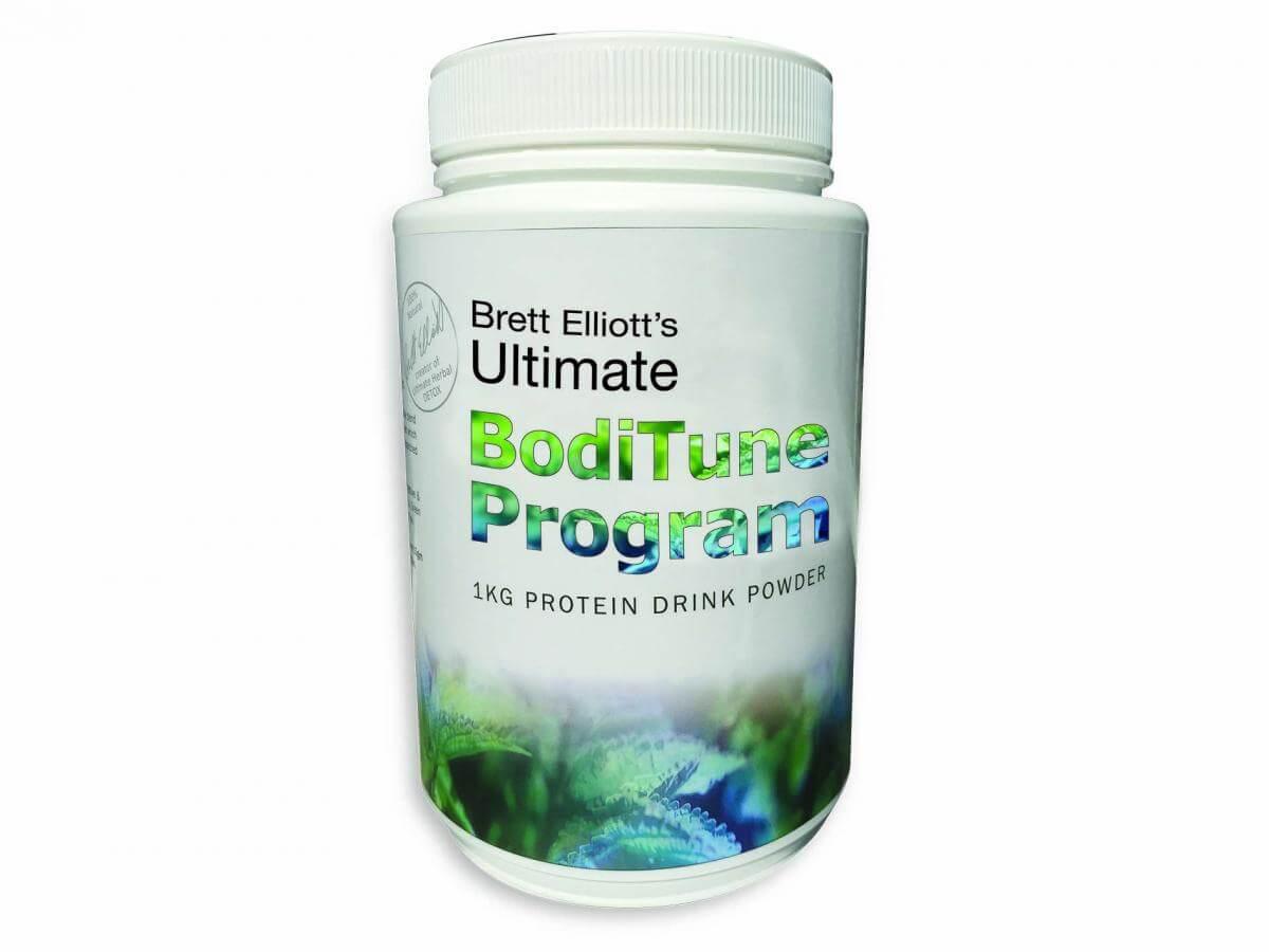 BodiTune Detox 'n Slim 1kg protein pot