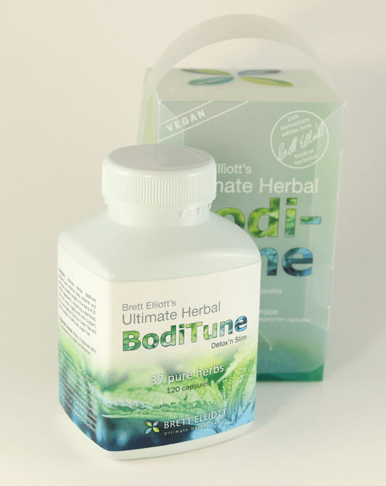 BodiTune Detox 'n Slim 120 capsules bottle