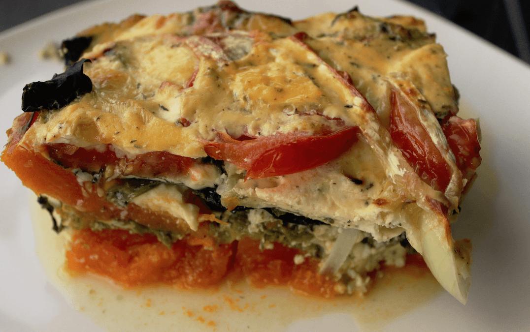 Pumpkin, Spinach & Egg Fritatta