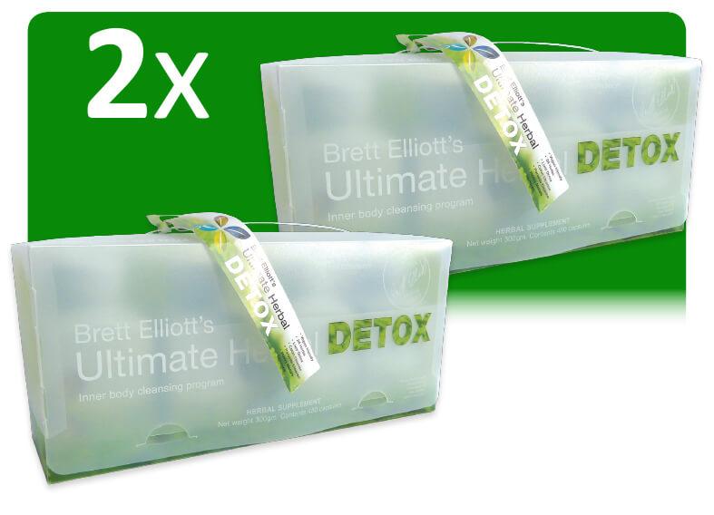 2 x Ultimate Herbal Detox programs