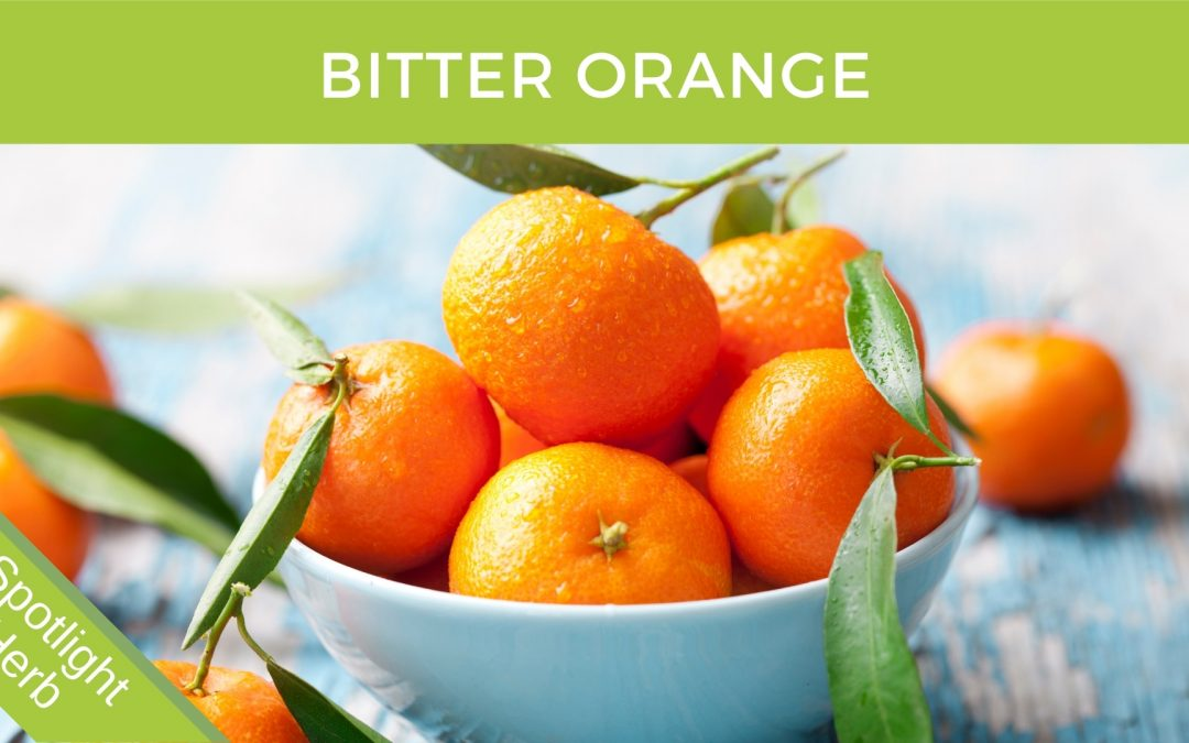 Bitter Oranges In A Bowl