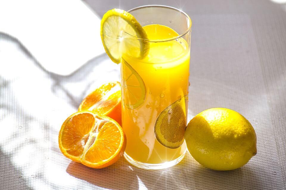 Orange Juice contains Synephrine