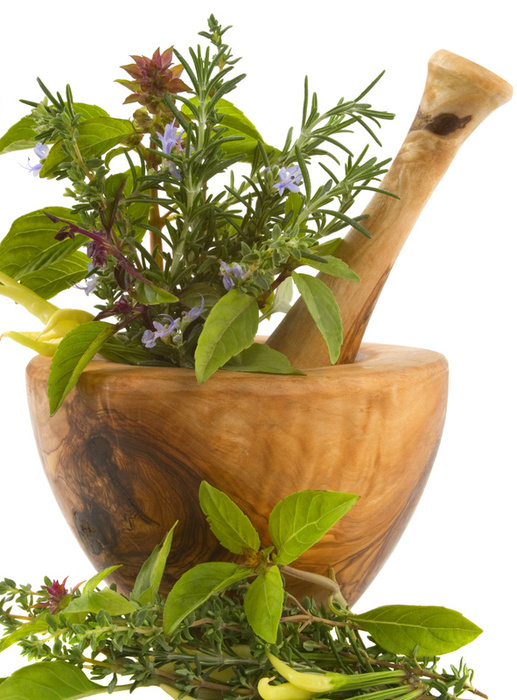 Nutrition in herbs