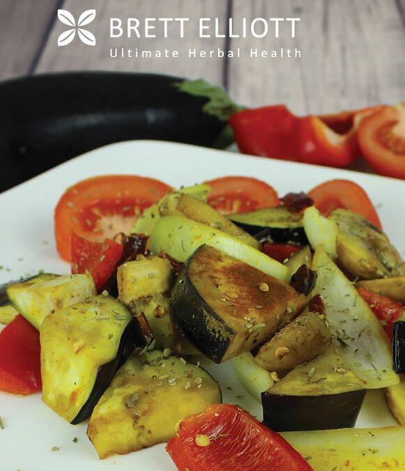 Eggplant, Leek & Zucchini Bake