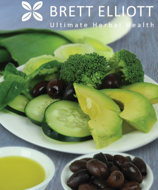 Avocado, Broccoli & Cucumber Salad