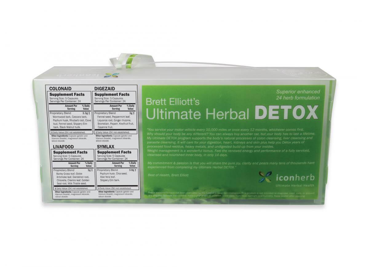 Detox kit back