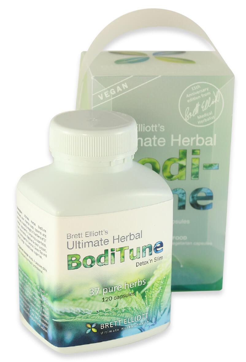 BodiTune Detox n Slim capsules bottle