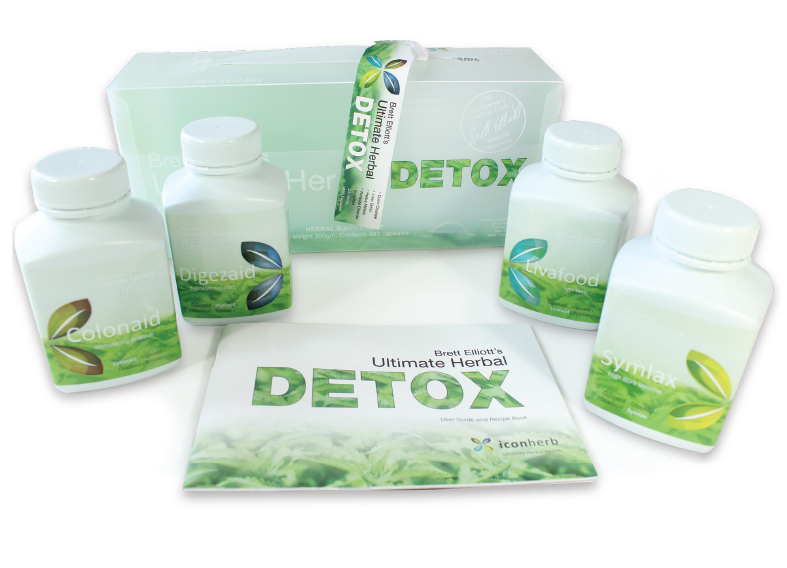 Ultimate Herbal Detox Program with bottles