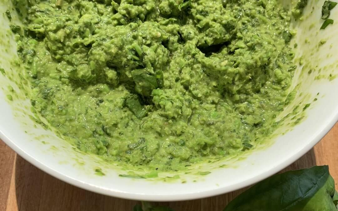Green Chilli &  Basil Pesto