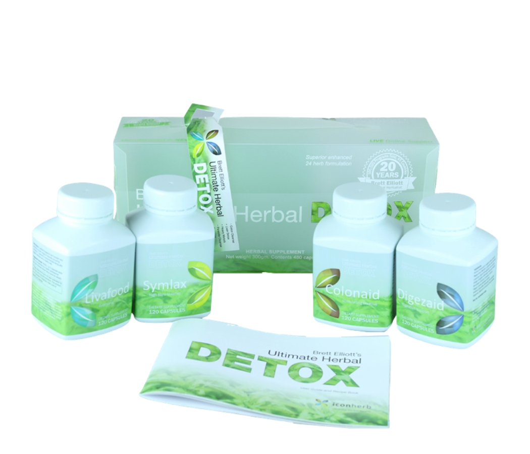 Ultimate Herbal Detox Body Cleanse Program