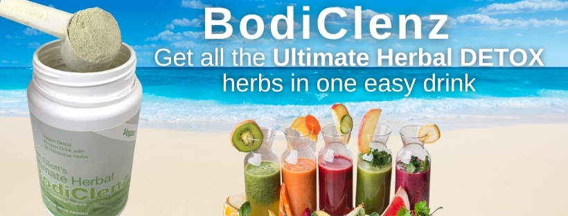 bodiclenz with different types of smoothies