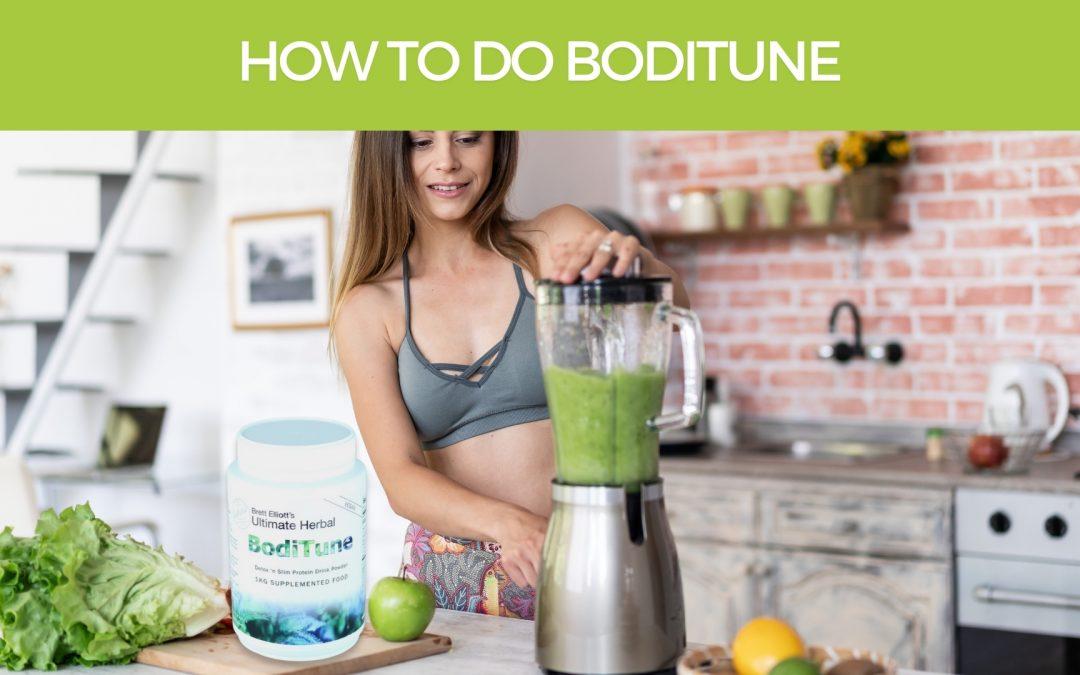 How to do BodiTune 'Detox 'n Slim' Program
