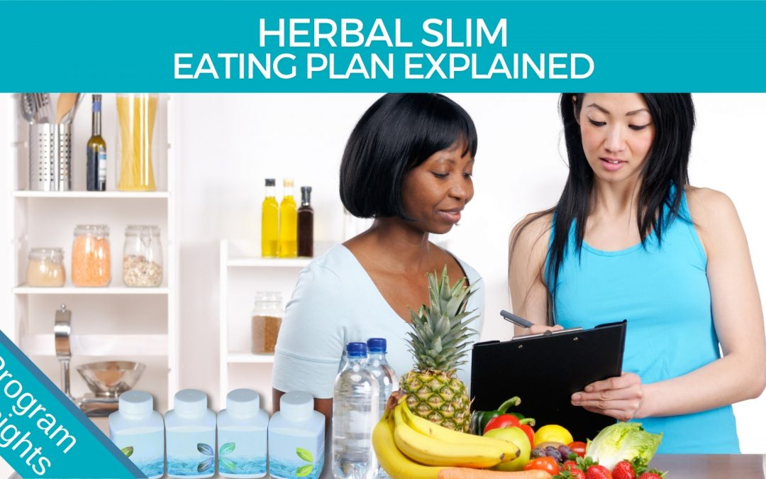 Ultimate Herbal SLIM – Shopping list and eating plan made easy